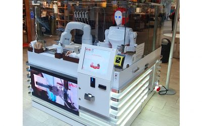 RoboCaffe in Iso Omena shopping centre