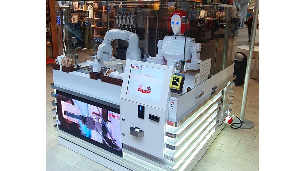 RoboCaffe with Nayax payment